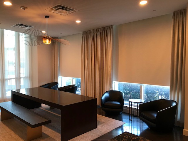 We work on Commercial and Residential Projects all over Metro Atlanta......call us so we can help you with your next home project!  #atlantacustominteriors #customwindowtreatments #customshades #customdrapery #customworkroom #commercialorresidential #lovemyjob