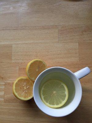 Life's lemons make for a healthy drink