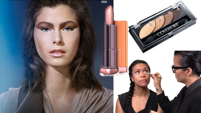 Star Wars makeup tutorial: The Jedi look by Covergirl