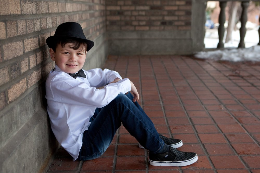 Kolby's earliest memories are in foster care -