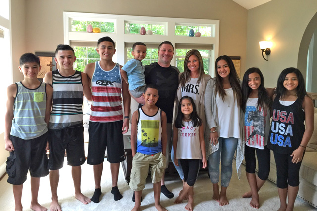 Six siblings find their forever family after growing up in foster care -