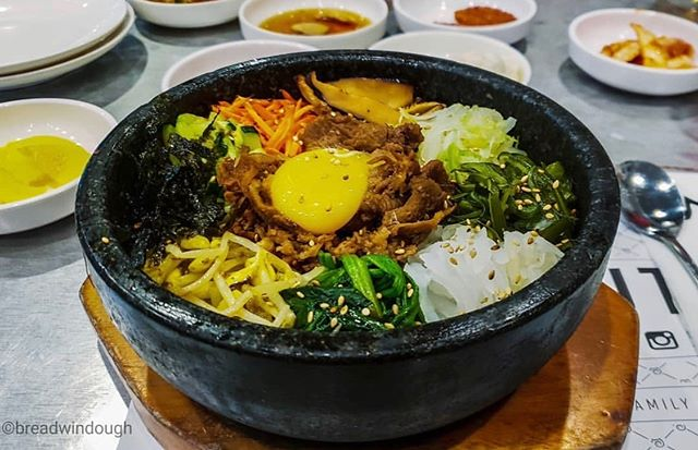 Brave the storm and stop by to enjoy our Hump Dae lunch special every Wednesday from 11am-3pm. Our delicious Bee Beem Bhop is $7 in a bowl or $10 in a hot stone pot. Available at all locations. Photo by @breadwindough 📸