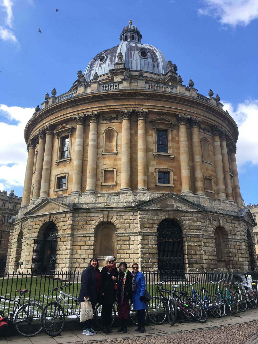 Bodleian Library, Radcliffe Camera, Oxford.