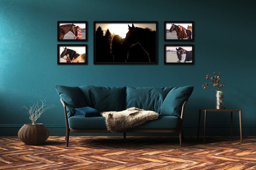 Own Portraits You Love - Proudly display portraits that tell your story.