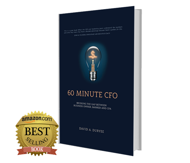60 Minute CFO: - Quickly and easily explains all aspects of finance to your business customers.Creates a solid relationship when loan officer and client are on the same level of understanding financial concepts.Helps ensure the financial health and ultimately the success of clients' businesses by explaining the difference between profits and cash flow.Introduces your clients to the powerful analysis and forecasting software included with the book.
