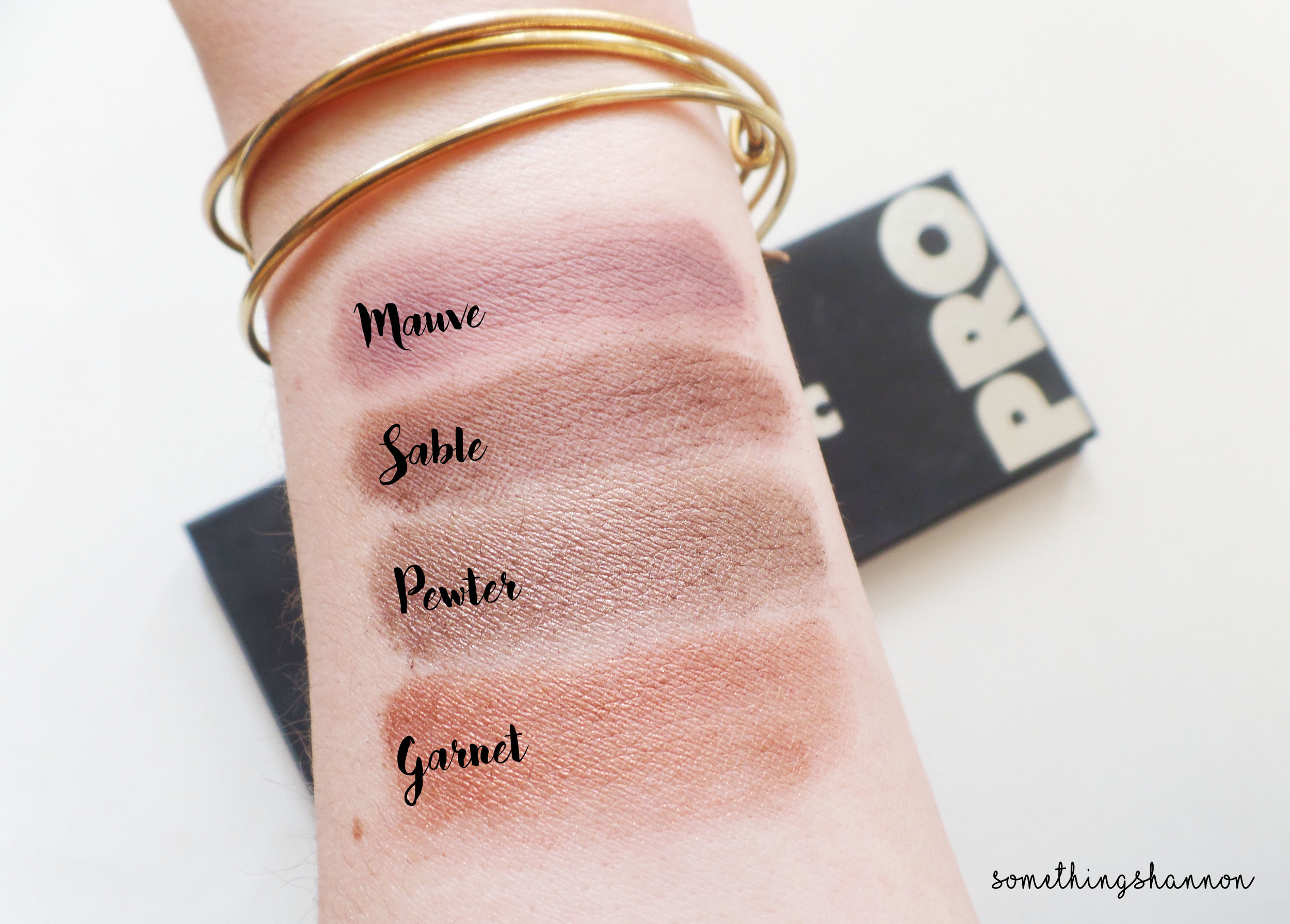Lorac Review Swatches 3