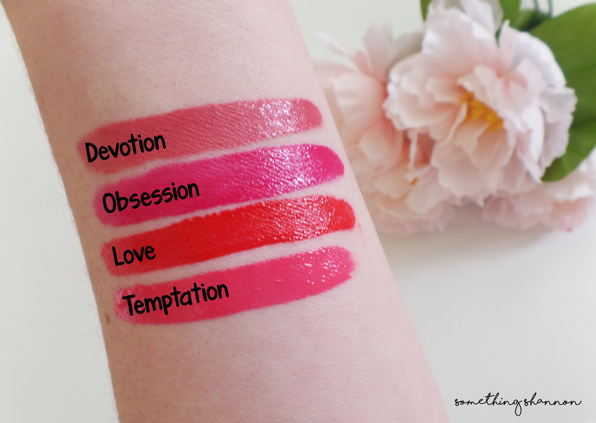 Revlon Ultra HD Matte Lip Colors Swatches