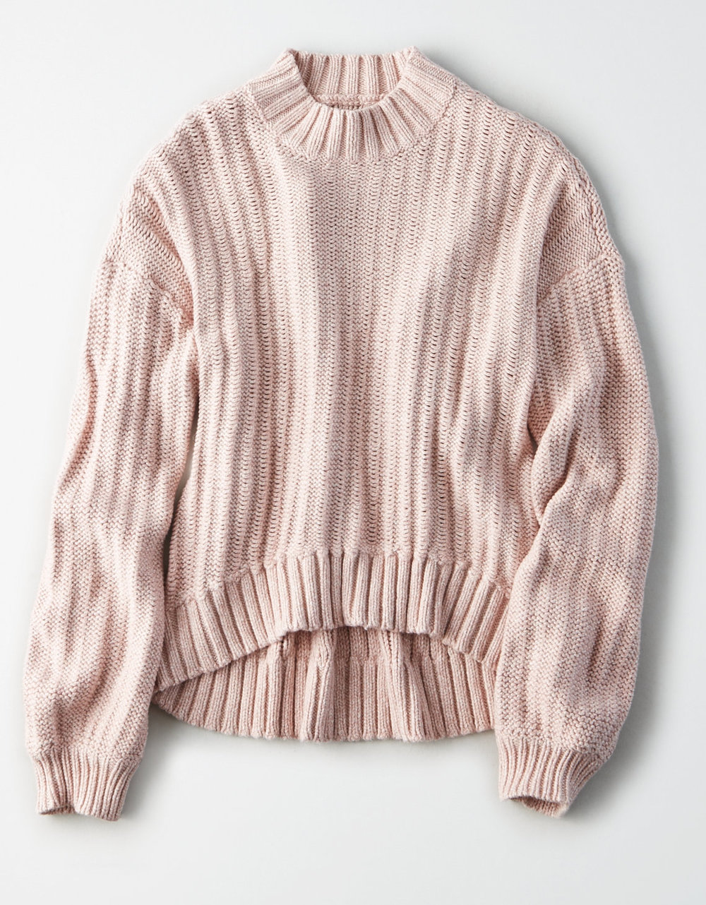 Mock Neck Sweater | $30.01