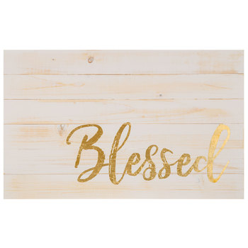 Blessed Wood Sign | $14.99