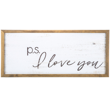 PS I love You Sign | $12.49