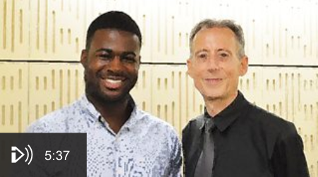 Ben Meets Peter Tatchell