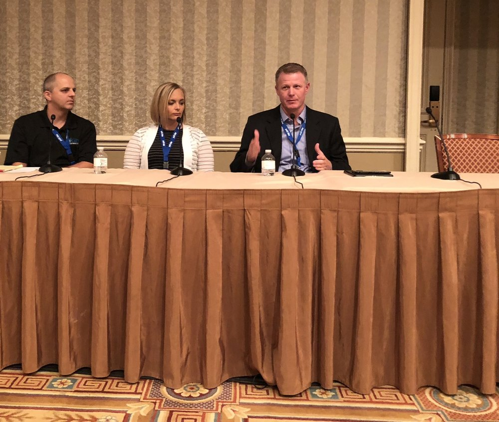 """Ryan Snow, """"Family In Business"""" panel guest 2018 Service World Expo in Las Vegas, Nevada."""