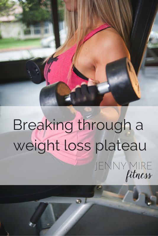 Breaking through a weight loss plateau (1)