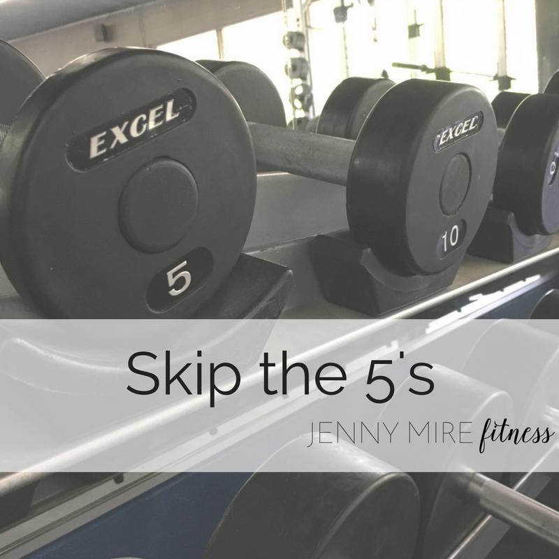 Skip the 5's