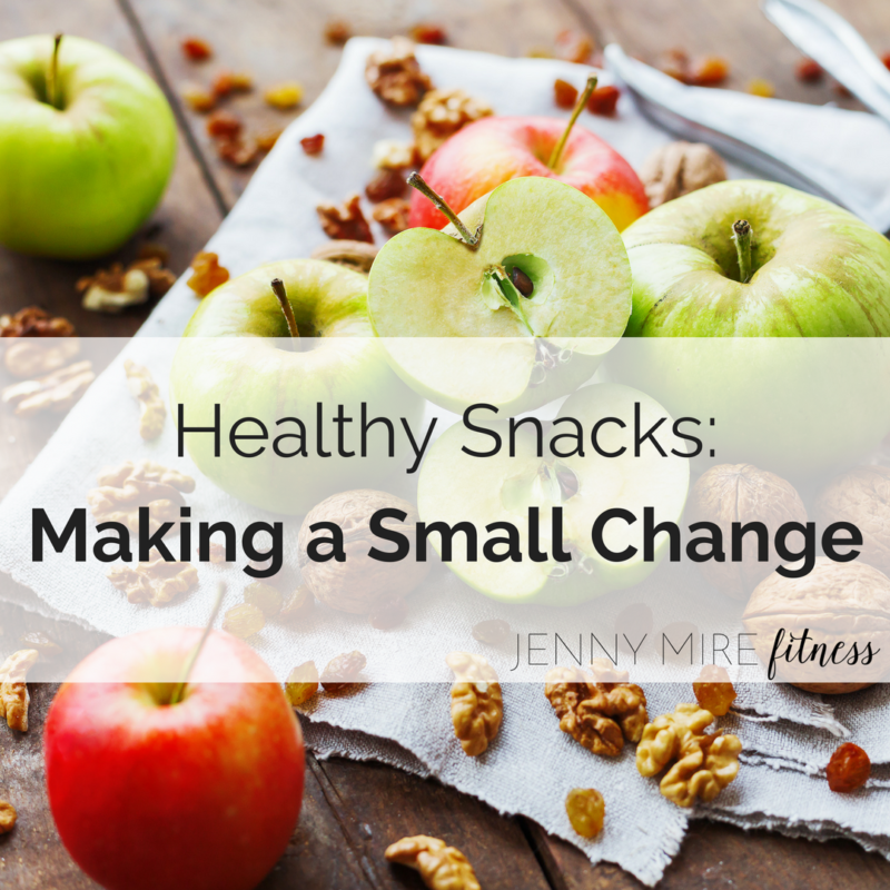 Healthy Snacks-Making a Small Change