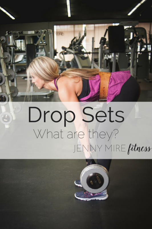 Drop Sets