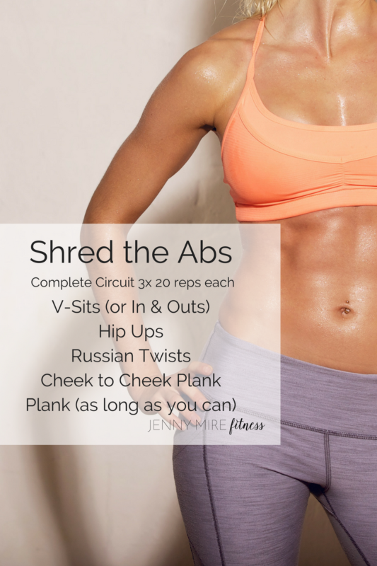 Shred the Abs