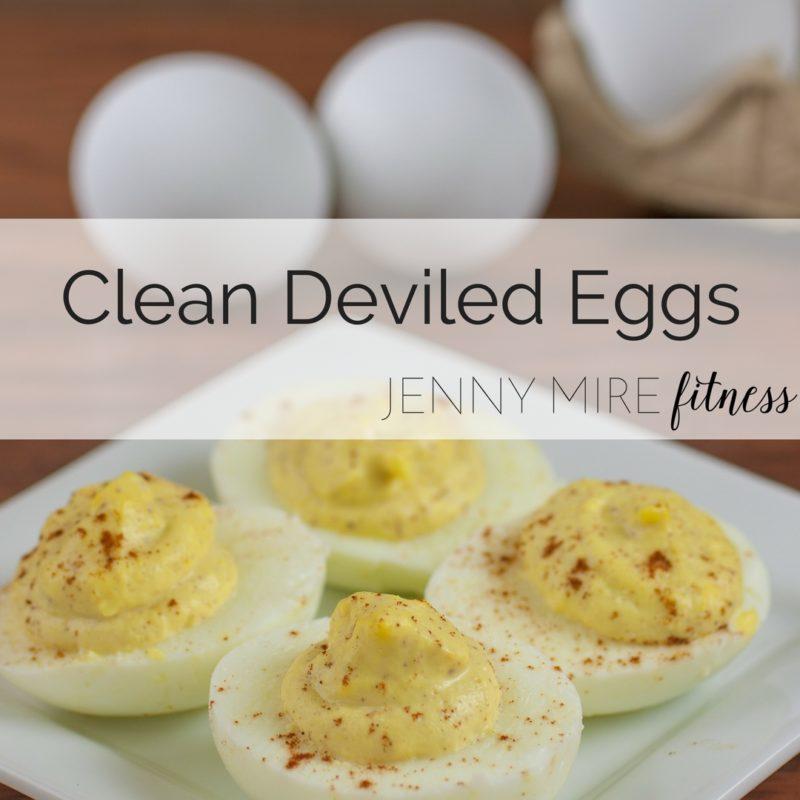 Clean Deviled Eggs