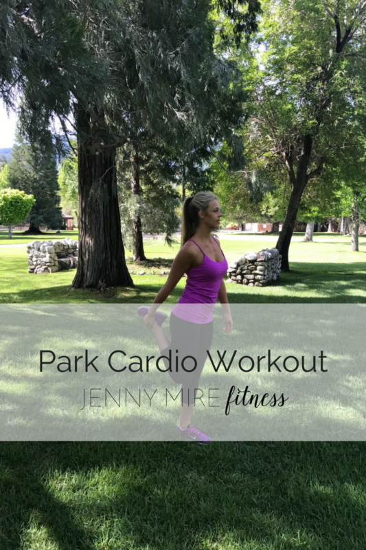 Park Cardio Workout