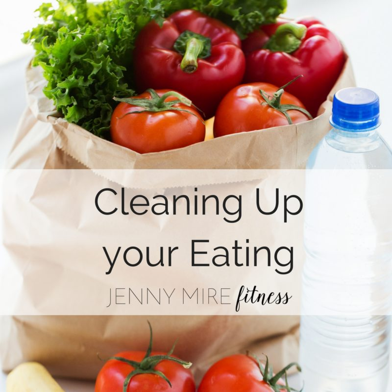 Cleaning Upyour Eating
