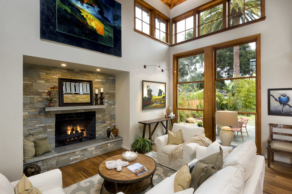 Contemporary Craftsman, Montecito $2,995,000 SOLD