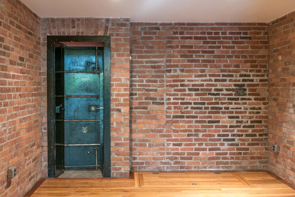 Historic district restoration progress wine cellar