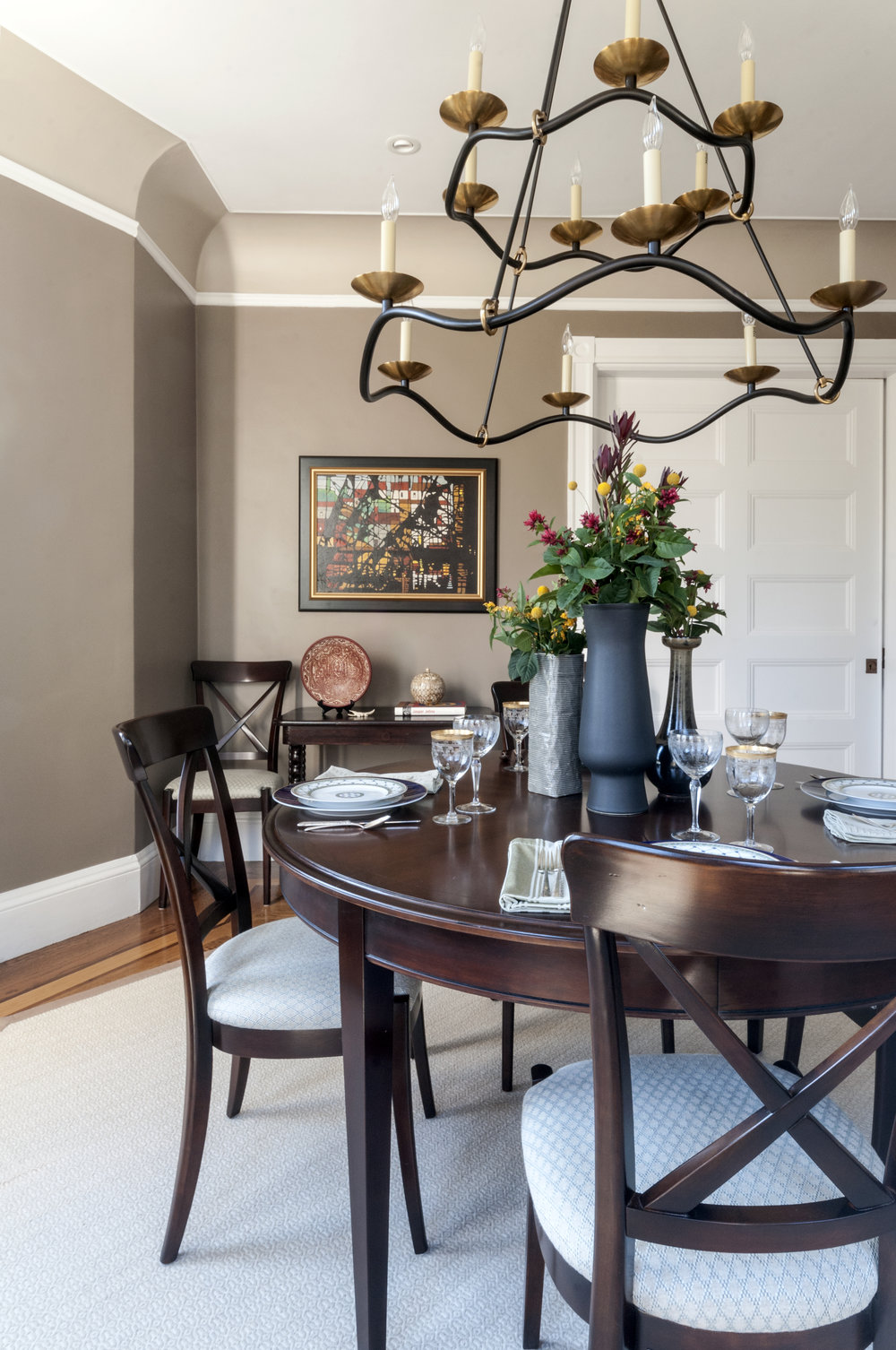 Newton Victorian dining room