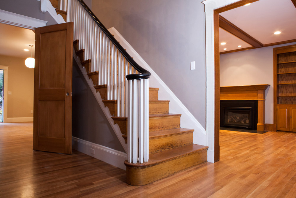 Staircase and floor restoration