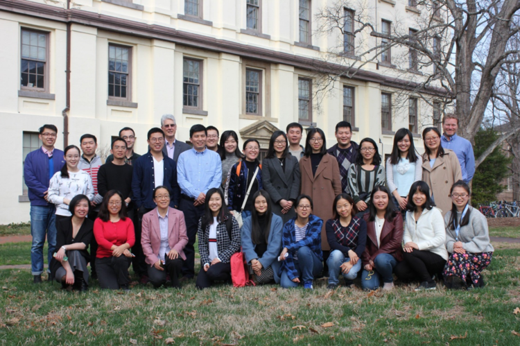 Photo: Visiting Scholars from the UNC Program on Chinese Cities
