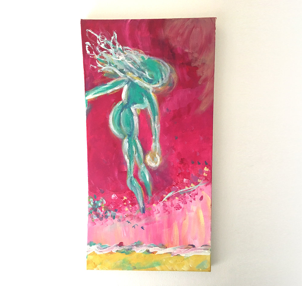 A painting I did in the summer of 2012 while I was searching for the power within.