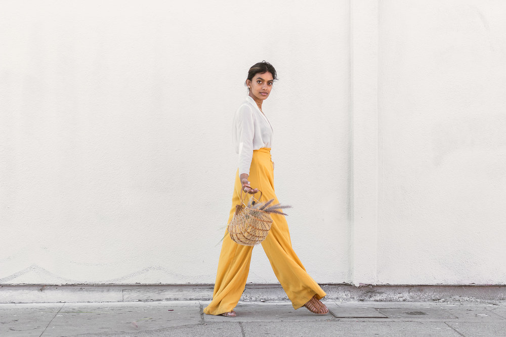 Chai Time by Stella Simona_ Kristen_White Top_Yellow Pants_2.jpg