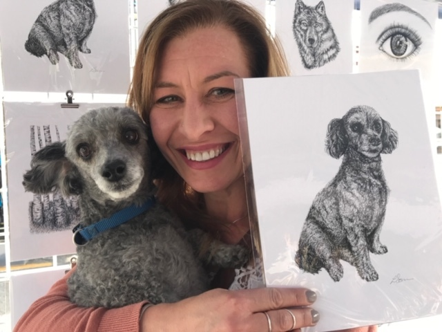 Artist and Dog Portrait.JPG