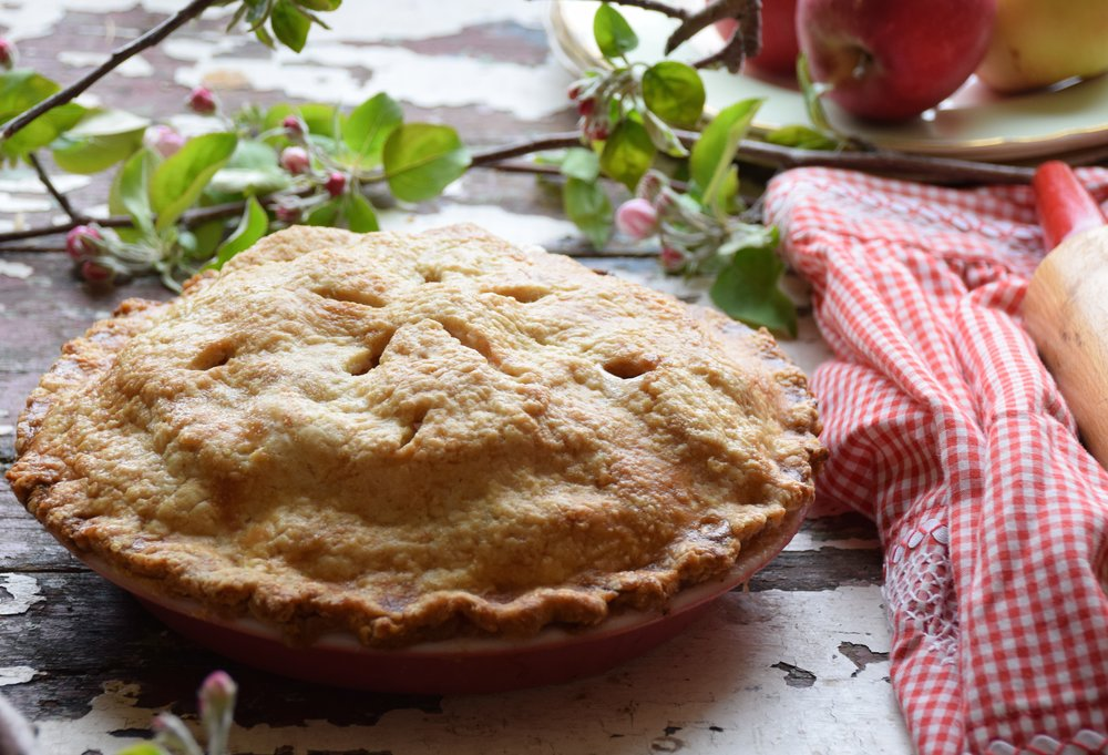 our favourite apple pie
