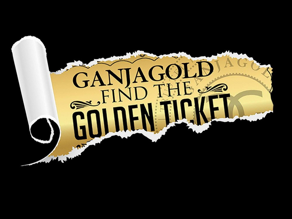 How to Enter -  Find a Golden Ticket in a Tarantula,  Post on Instagram  with the tag #GanjaGoldGoldenticket & follow the directions on the ticket to have your name entered for the Grand Prize!  To find a collective near you look use the circle in the left hand corner, pay attention for Golden Ticket Hot Spots!