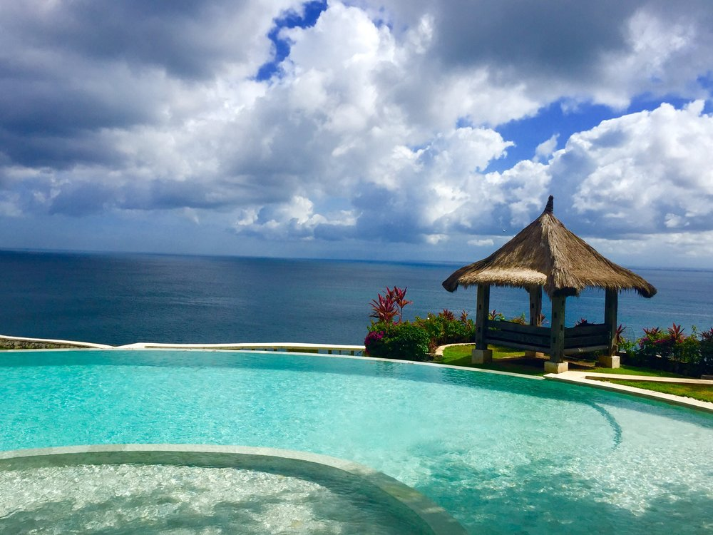 I'll take a fresh Piña Colada with this view please. -