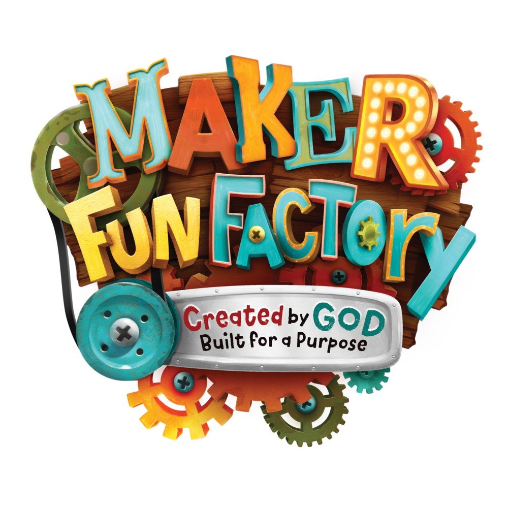 Vacation Bible School 2017 - To see what is going on this week at Vacation Bible School, click on the Fun Factory Logo!
