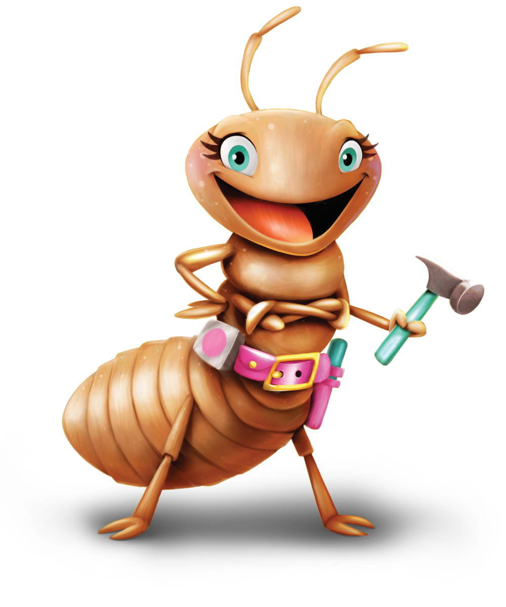 Day #2 - Tina the Termite was our host on Monday for Day #2 of Vacation Bible School at the Maker Fun Factory.  She taught us that