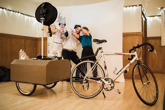 The Bike Booth in it's full form, ready for action! . . . . #Photobooths #photobooth #photography #photos #picoftheday #thebikebooth #photographer #portlandphotobooth #pdxphotobooth #oregonphotobooth #nwphotobooth #unique #keepportlandweird #photoboothprops