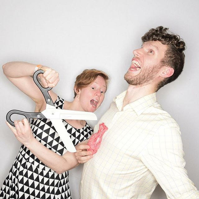 Photo booths really do help us bring out the best in each other. ✂️💕 . . . . . . #Photobooths #photobooth #photography #photos #picoftheday #thebikebooth #photographer #portlandphotobooth #pdxphotobooth #oregonphotobooth #nwphotobooth #unique #keepportlandweird #photoboothprops