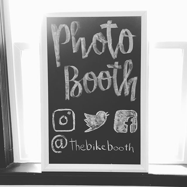"""Thought to myself """"you know what? I need a sign to promote the booth AND I should take up chalk art at the same time"""". Actually all in all I'm pretty happy with it. Come find me at Last Thursday tonight on Alberta from 6-9! . . . ."""