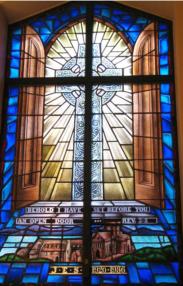 Dr. J. Ernest Somerville window