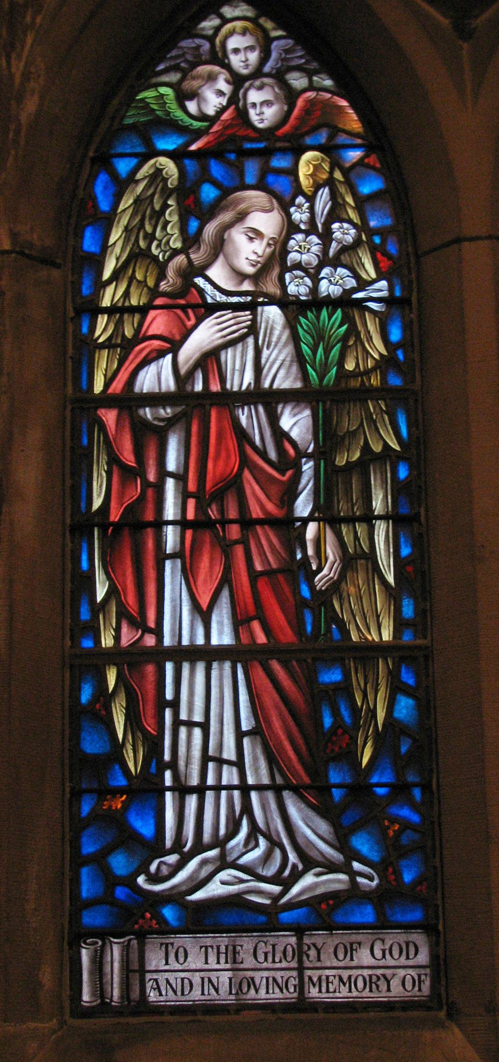 Mary Grier Bartol window