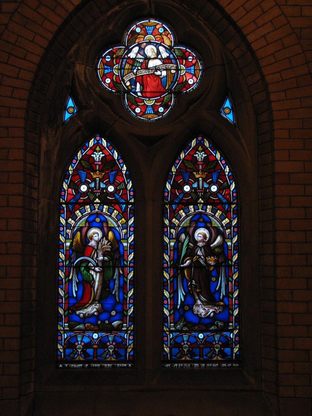 Alice Niles Miller window