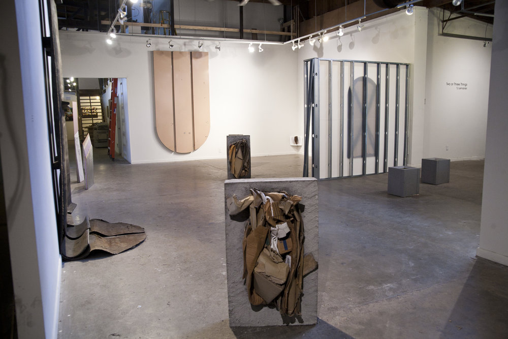 Two or Three Things, installation view
