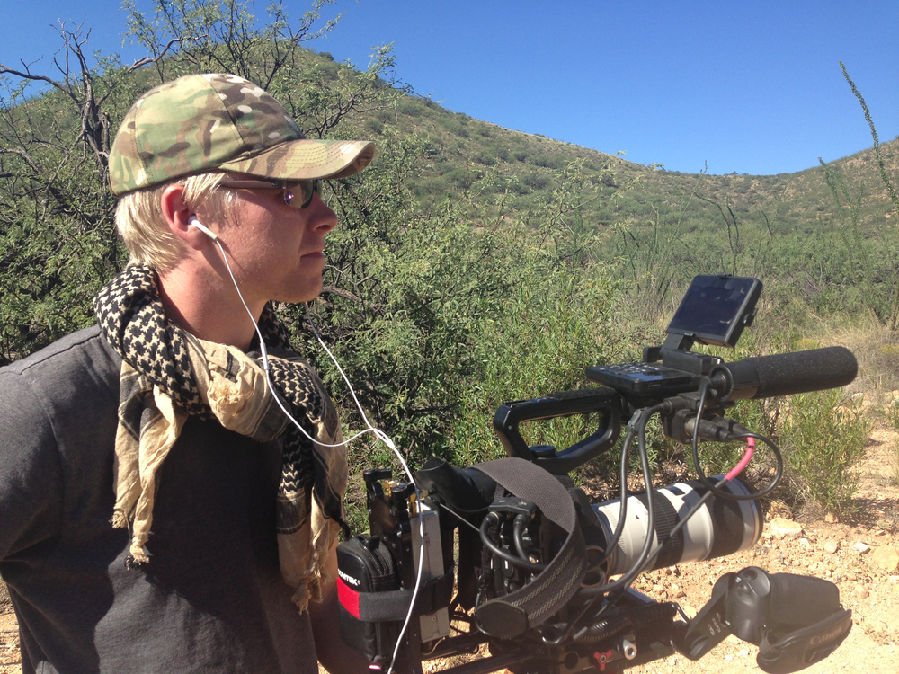"Cinematographer Matt Porwoll on location shooting ""Cartel Land."""