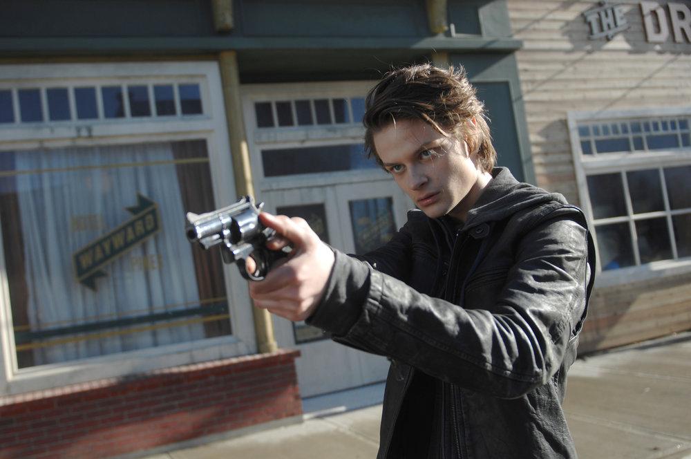 """Guest star Charlie Tahan in the """"Enemy Lines"""" season premiere episode of  Wayward Pines"""