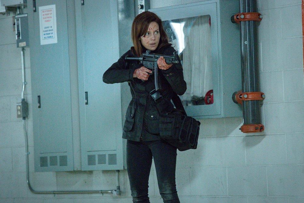 "Kate (Carla Gugino) in the ""Cycle"" season finale episode of  Wayward Pines"