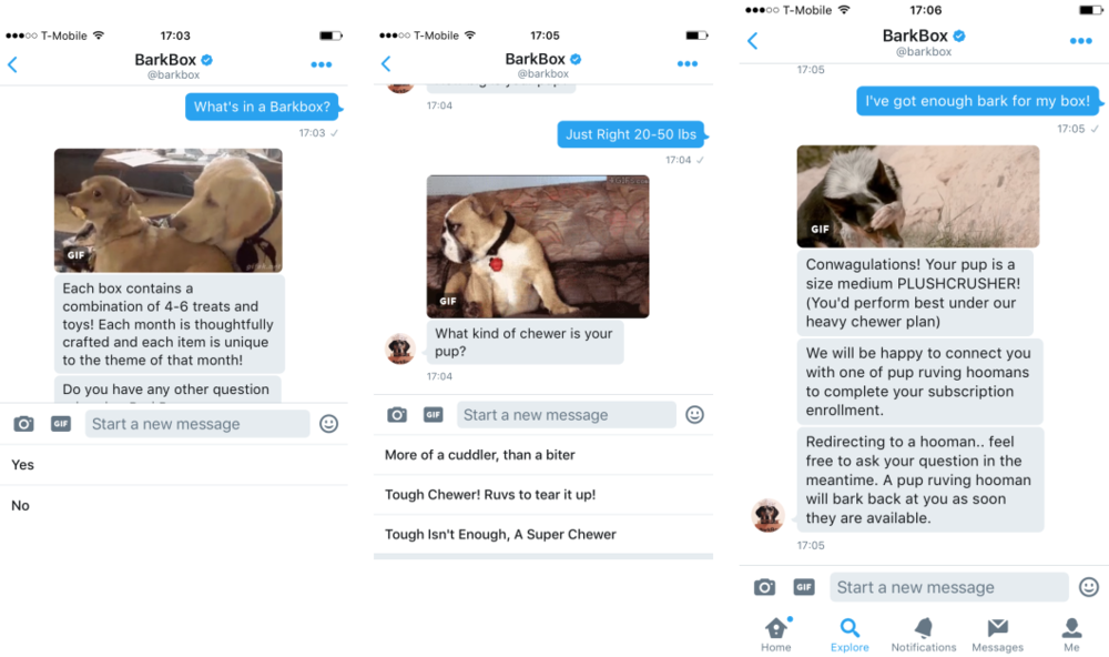Barkbox-Twitter-Chatbot
