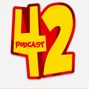 - Podcast 42 is the World's Most Popular Inaccurate And Sometimes Squirreled Retelling Of Pop Culture History Podcast. Join the hosts as they tackle one subject per episode and bring you the untold (and told) story in a fun and unique way. Take the pop quiz, learn random facts pulled out of a fishbowl (it's a real fishbowl, we will send you picture proof if you like), hear celebrities badly impersonated, and learn about a new beer each week. You can also chime in on any topic past or present with our hotline: 813-708-9717. Topics are posted on our twitter every Monday at @podcast42show and in our Facebook group: The Official Podcast 42 Facebook group. New shows released every Thursday.