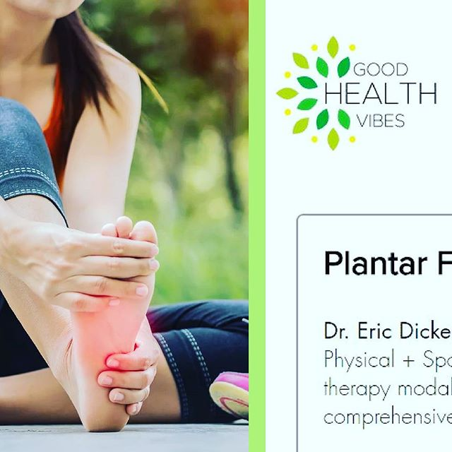 Our very own Dr. Dickerson, DC FRCms was interviewed by @goodhealthvibe ! Check out their article for #tips on preventing and treating #PlantarFasciitis! Link in bio.  #footpain #sportsrehab #running #interview #injuryprevention